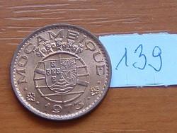 PORTUGÁL MOZAMBIK 50 CENTAVOS 1973 139.