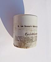 Osztrák/német porcelán gyógyszertári tégely