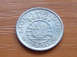 PORTUGÁL MOZAMBIK 2,5 ESCUDOS 1973