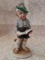 W&A Bertram kottából éneklő kisfiú