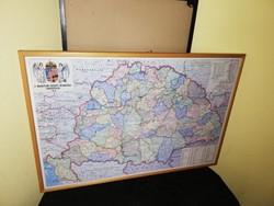 Nagy Magyarország térképe! Új kiadás!