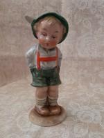 W&A Bertram nézelődő kisfiú