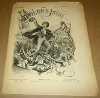 Bolond Istók, 1880 február 29., régi, antik, újság, humor, vicc, politika, XIX. század, vers