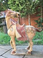 Kínai Tang stílusú ló harci ló szobor
