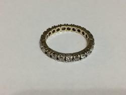 Körbe köves ezüst gyűrű