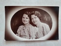 Régi fotó vintage női fénykép 1939