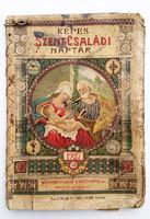 Régi Képes Szent-Családi Naptár 1927