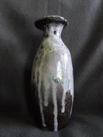 Retro iparművészeti váza sérült  23 cm