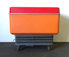 0X962 Retro nagyméretű MIRKÖZ fagylaltos hűtő