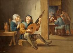 Waldkirch /1821 / : Mulatozó társaság