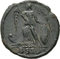 Konstantinápoly  follis, Alexandria , AD 333-335