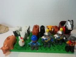 Lego Dublo figurák 13 db a képeken látható állapotban
