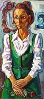 Józsa János: Női portré