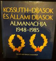 Kossuth-díjasok és állami díjasok almanachja 1948-1985