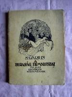 Savarius : A bujaság himnuszai és más erotikus költemények /Ritka , eredeti példány/