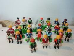 Geobra figurák 26 db a képeken látható állapotban focisták