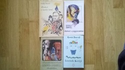 4 darabos Gerald Durrell könyvcsomag