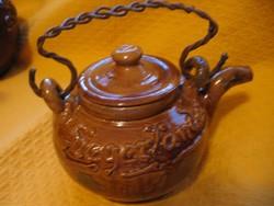 Siegerlander Mackes M. Bucholz kézműves kisebb teás kanna