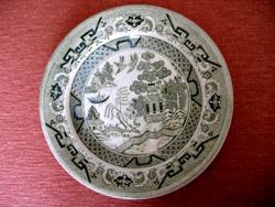 Nagyon ritka Green Willow antik tányér