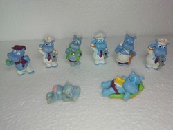 Régi gyűjteményből való kinder figurák 8 db