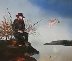 Eredeti Szász Endre festmény eladó