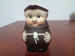 Eredeti Goebel szerzetes porcelán kiöntő
