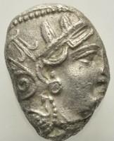 Attika Athén ezüst Tetradrachma    16,88g,  18-24mm.