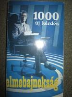 Egri János: Elmebajnokság 1000 új kérdés (1984)