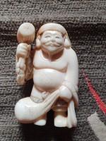 JAPÁN Netsuke az Edo korból.