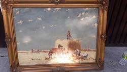 Gyönyörű Csillag József Festmény