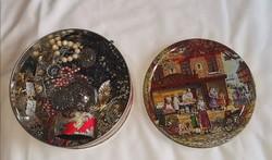 Ékszerek fém dobozban nagymama kincsei