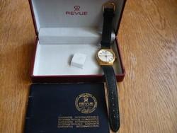 Revue Thommen egy NOS uniszex óra eredeti dobozával és papírjával