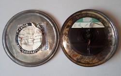 Régi archív film, filmtekercs fém tárolódobozban Magyar Televízió Filmlaboratórium jelzéssel