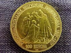 Ferenc József 100 Korona 1907 replika / id 10830/