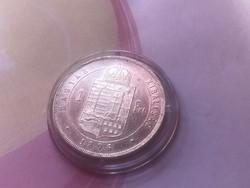 1876 ezüst 1 forint Szép darab,kapszulában így Ritka!!