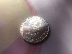 1972 ezüst 25 schilling 13 gramm 0,800