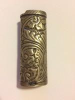 Különleges ezüst gyűjtó tartó/ tok
