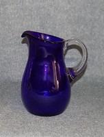 Vastag kék üveg kancsó 1,6 literes (z)