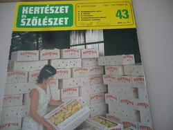 Kertészet és Szőlészet 1977. okt.27.