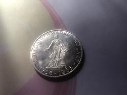 1956 ezüst 25 schilling 13 gramm 0,800