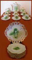 Hermann Ohme Eglantine porcelán komplett  RITKA