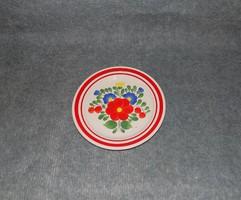 Jelzett Dömsödi Népművész kerámia Gránit falitányér fali tányér 20,5 cm (n)