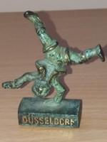 Düsseldorf Bronz Figura