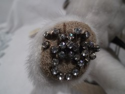 Táska - ANNAH ROXXAH - Francia divattervező - korlátozott - NÉMELYIK - talpán gyémánt mancsnyom