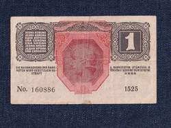 Osztrák-Magyar Korona bankjegyek (háború alatt) 1 Korona bankjegy 1916 / id 10760/