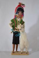 Perui népművészeti baba