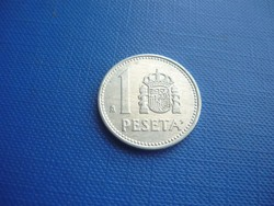 SPANYOLORSZÁG 1 PESETA 1986