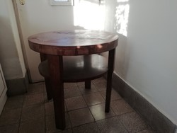 Art deco kerek asztal