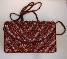 Alkalmi ,színházi táska, retikül. 20x14 cm