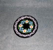 Ritka Gránit falitányér fali tányér 20 cm (n)